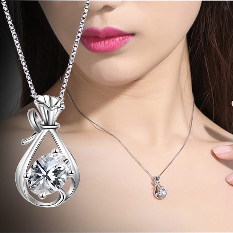 Dây chuyền chiếc túi đính đá giả kim cương lấp lánh thời trang cổ điển SPN-DZ129 - 2792212 , 470658917 , 322_470658917 , 118000 , Day-chuyen-chiec-tui-dinh-da-gia-kim-cuong-lap-lanh-thoi-trang-co-dien-SPN-DZ129-322_470658917 , shopee.vn , Dây chuyền chiếc túi đính đá giả kim cương lấp lánh thời trang cổ điển SPN-DZ129