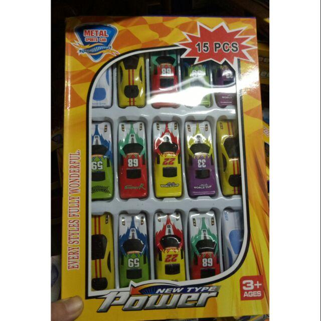 Bộ 15 oto đồ chơi mini cho bé