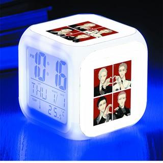 Đồng hồ báo thức để bàn in hình 19 Days tiện lợi chất bền