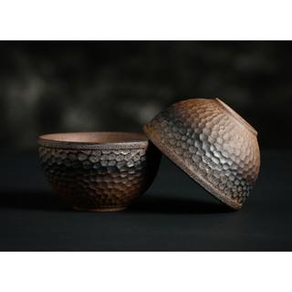 Chén trà gốm theo phong cách cổ điển Nhật bản