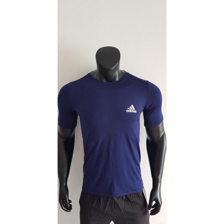 Bộ Quần Áo Thể Thao Nam Adidas Cao Cấp BATENO (Xanh tím than)
