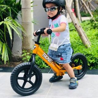 Xe thăng bằng cho bé Tacke Bike Alu siêu nhẹ 1.9kg, tặng bảo hộ, đèn led, chuông
