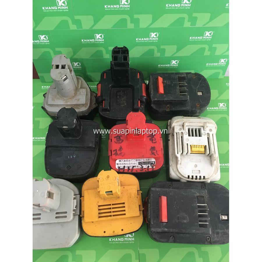 KM Pin cũ zin, lấy vỏ, dành cho máy khoan bắt vít bê tông các loại Bosch Dewalt Hitachi National Mak