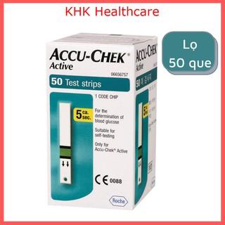 Hộp 50 que đường thử đường huyết Accu-Chek Active