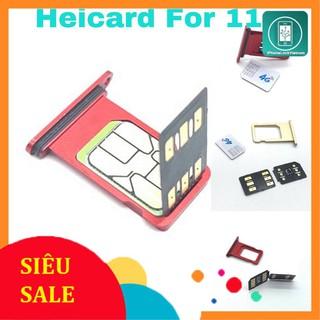 Siêu sim ghép heicard v1.39 PRO chuyên Ghép Xr/XS/Xsm/11/12/Pro max