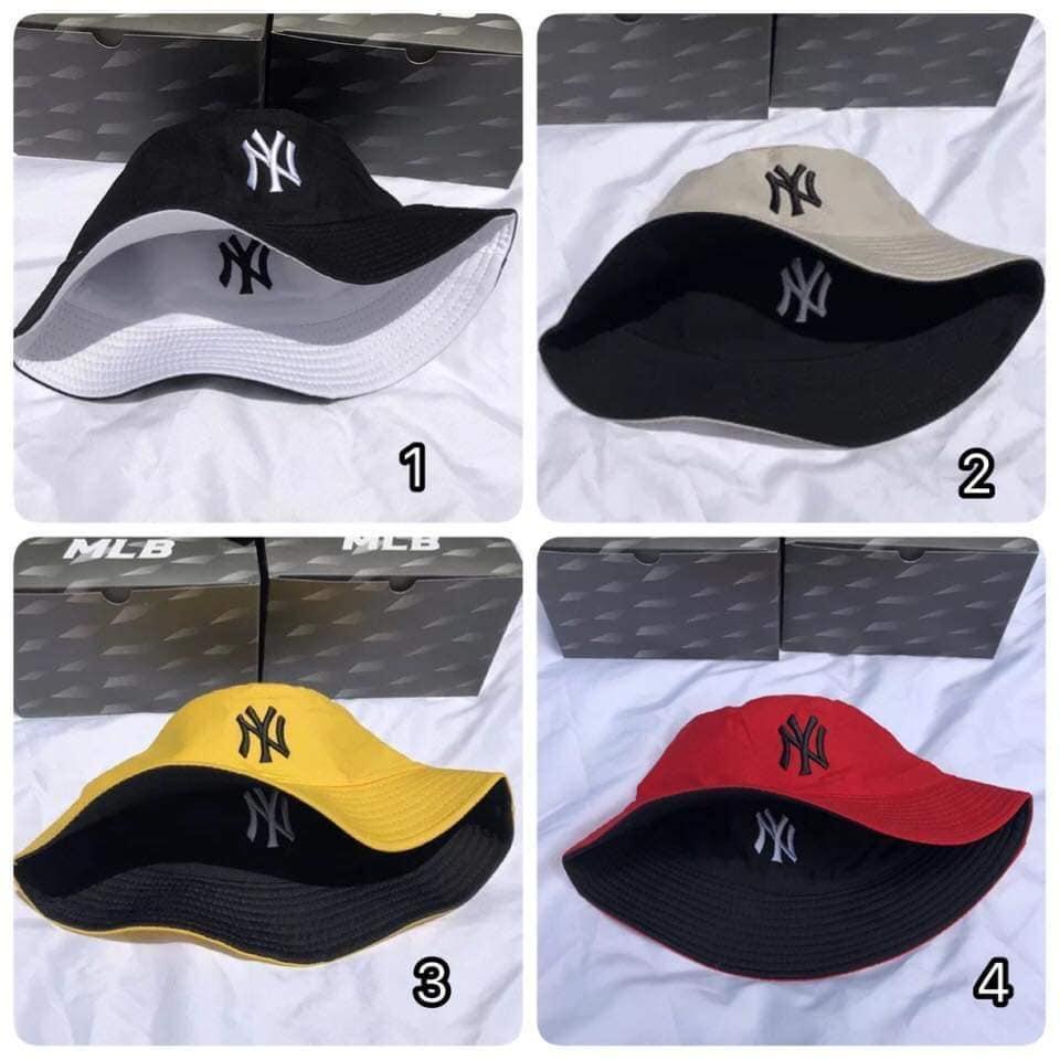 Mũ nón bucket Yankees NY cực HOT đội 2 mặt - Nón vành rộng tai bèo đội 2 mặt , Giá sỉ & lẻ