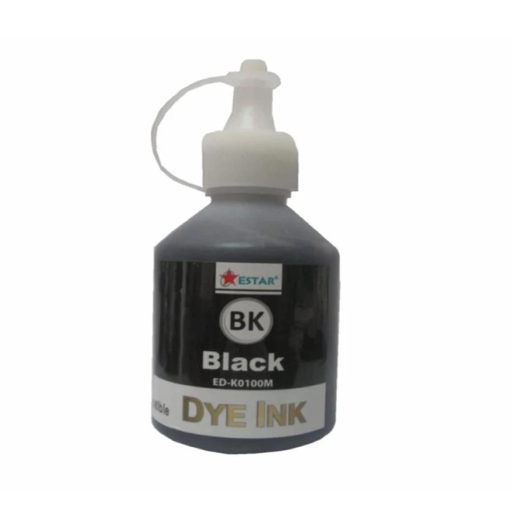 Mực in phun màu đen Estar cho máy Epson/Brother/HP/ Canon (Đen)