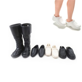 MT 4 Pairs/Set Dolls Cusp Shoes Sneakers Knee High Boots for Boyfriend Dolls NY