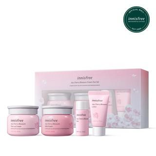 Bộ sản phẩm dưỡng ẩm sáng da innisfree Jeju Cherry Blossom Cream Duo Set