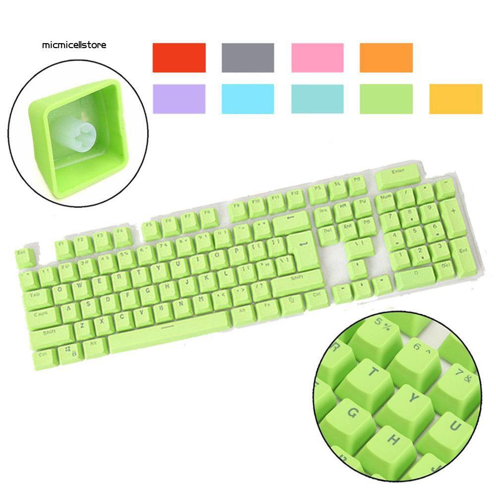 MIC◆_Doubleshot PBT Spacebar 104 Keycap Backlit for Cherry MX Mechanical Keyboard