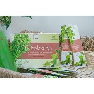 Bột cần tây Sitokata giúp giảm cân và đẹp da + tặng bình nước + cẩm nang