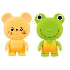 Đồ chơi chút chút ếch xanh cho bé Toyroyal 4903447103302 ( nhật bản)