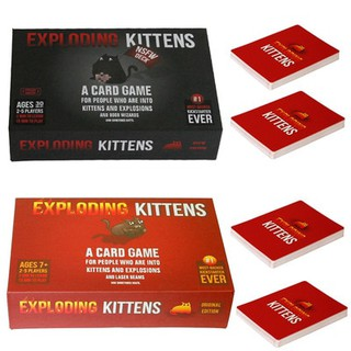 Exploding Kittens Cards Game Family Party Board Games
