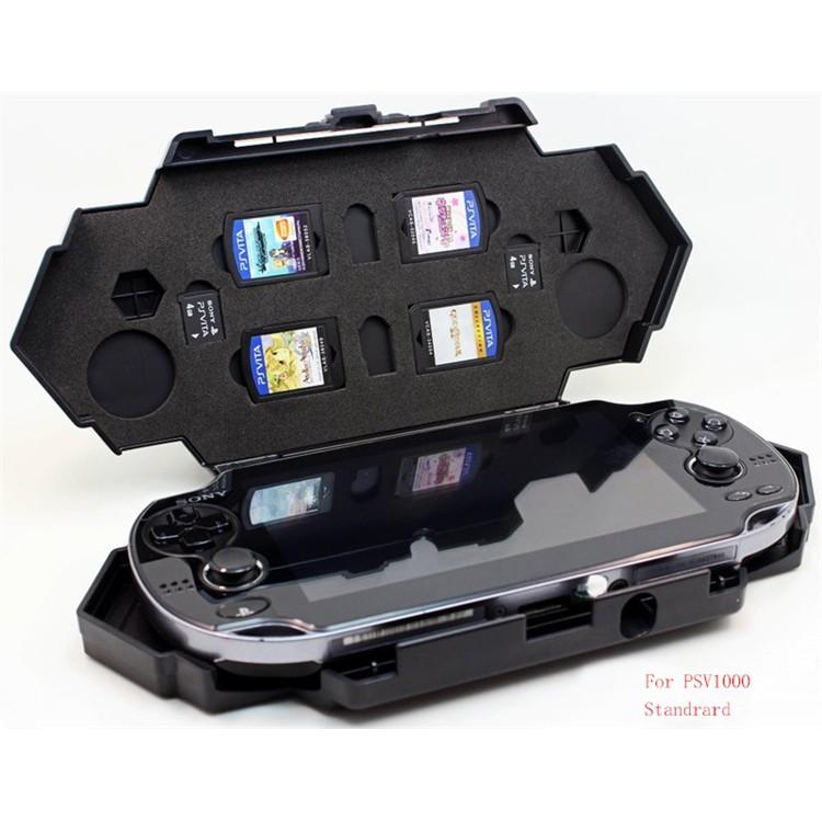 Ốp nhựa 2 lớp bảo vệ tay cầm chơi game Sony Playstation PS Vita P-S-V  1000/2000