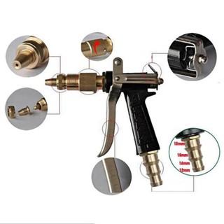 Vòi đồng xịt rửa xe tăng áp lực, Vòi xịt tăng áp phun nước cực mạnh 206236 tặng đai [SKM] thumbnail