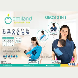 Geos 2 Trong 1 Size M Omiland Okg18023 / Okg18045 / Okg18067