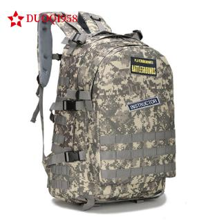 Playerunknown's Battle Grounds PUBG Winner Chicken Dinner Level1-3 Backpack Multi-functional Canvas