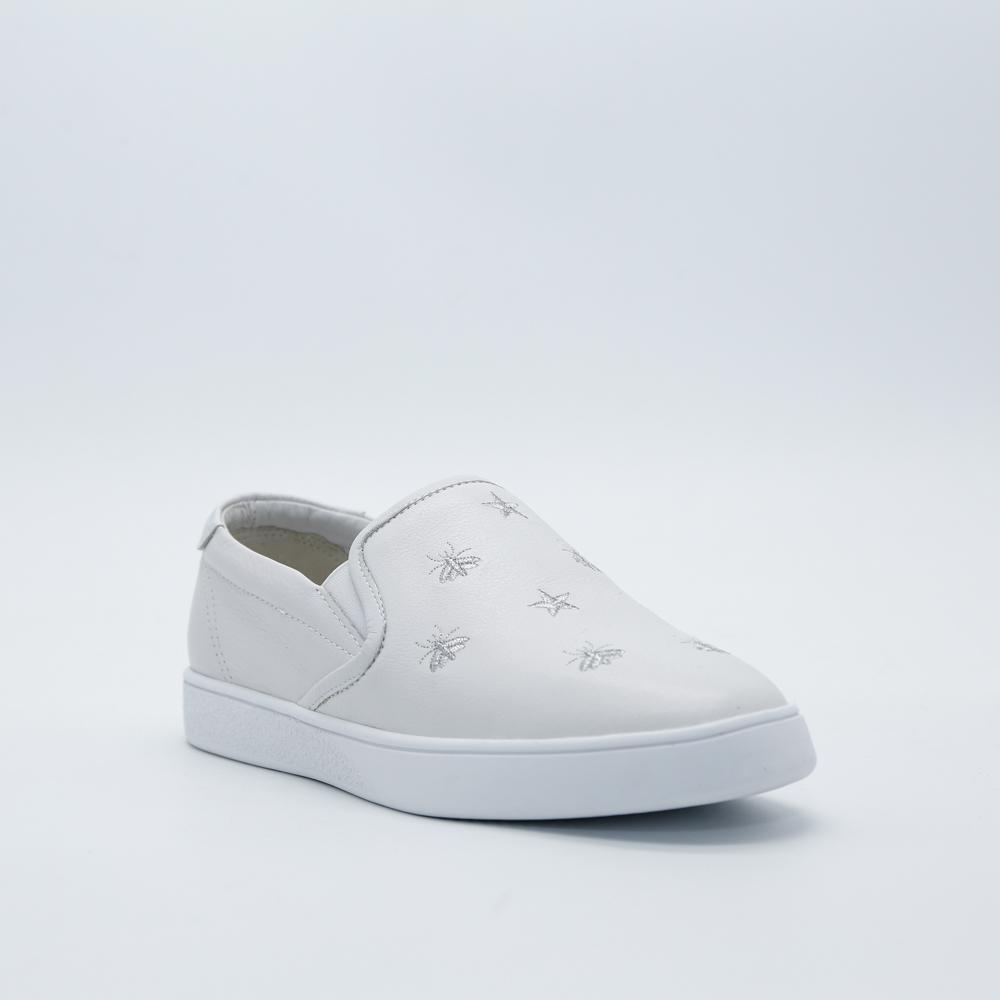 Giày slip on Aokang màu trắng 682332050