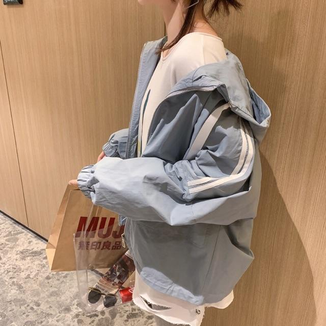 Áo khoác gió nữ