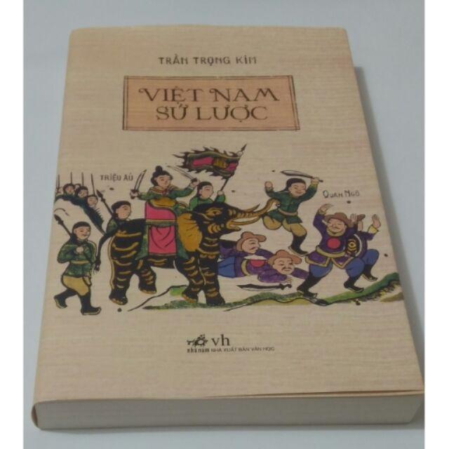 Sách - Việt Nam sử lược Tái bản