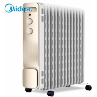 Máy sưởi dầu Midea NY2213-18GW tiết kiệm điện 13 miếng tản nhiệt
