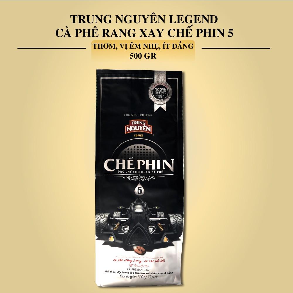Cà phê rang xay Chế Phin Loại 5 - Trung Nguyên Legend - Bịch 500gr - 22267934 , 3206060255 , 322_3206060255 , 168300 , Ca-phe-rang-xay-Che-Phin-Loai-5-Trung-Nguyen-Legend-Bich-500gr-322_3206060255 , shopee.vn , Cà phê rang xay Chế Phin Loại 5 - Trung Nguyên Legend - Bịch 500gr