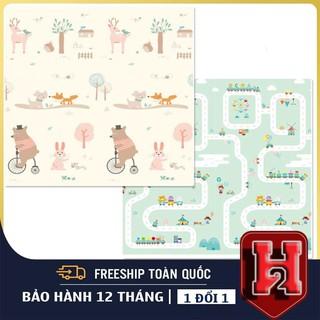 FREESHIP Thảm Xốp Cho Bé-2 Lớp Silicone An Toàn, Bé Thoải Mái Vui Chơi, Tập Bò, Tập ĐI, Kiểu Mẫu Đáng Yêu Cho Bé thumbnail