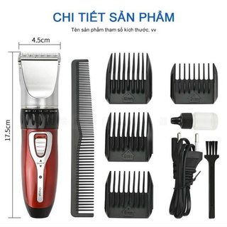 Tông đơ cắt tóc gia đình Jichen – máy cắt tóc – máy hớt tóc