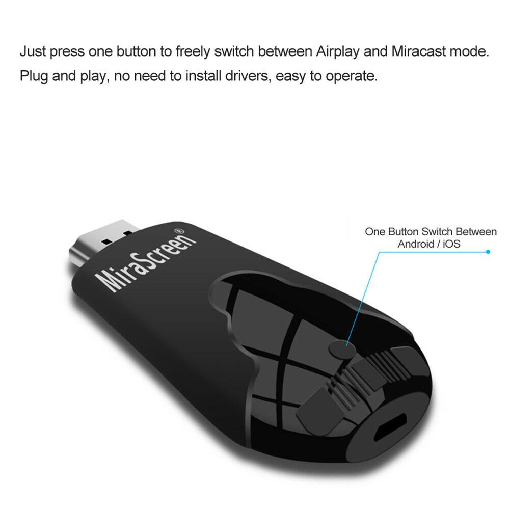 Mini Wireless HDMI Meeting Wide Use Home PC Office Teaching Universal Phone WIFI Display Dongle