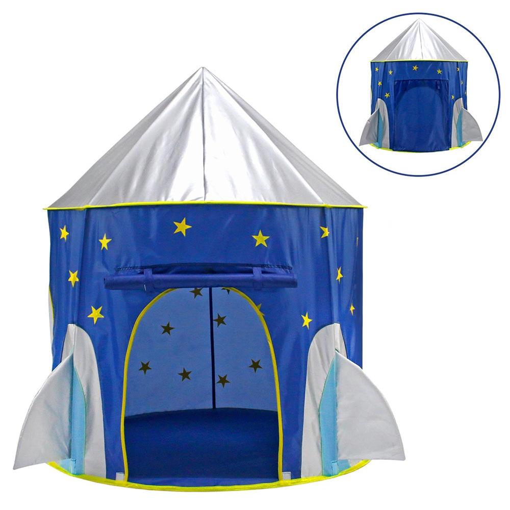 Children Indoor Outdoor Game Tent Play Tent Space Capsule Yurt Castle Toy House