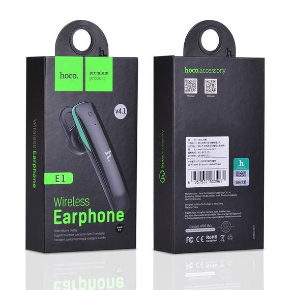 Tai Nghe Bluetooth Hoco E1 V4.1 Đàm Thoại Không Dây