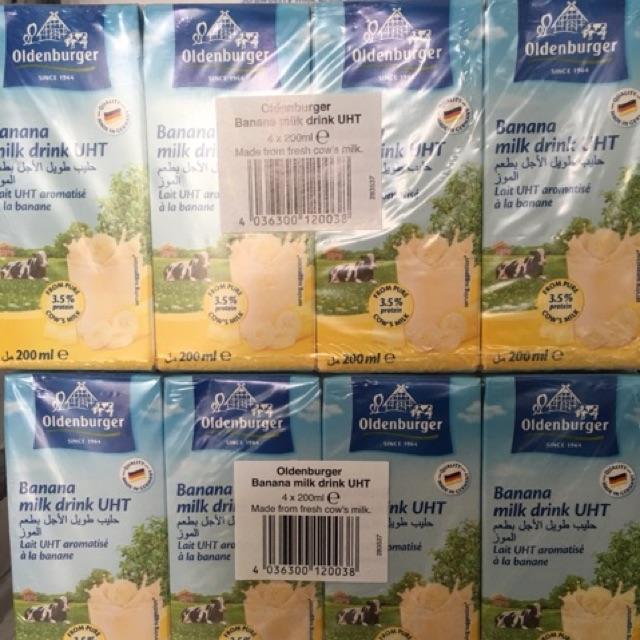 Sữa tươi Oldenburger Đức hộp 200ml, thùng 24 hộp. Vị chuối - 3540980 , 1119804034 , 322_1119804034 , 230000 , Sua-tuoi-Oldenburger-Duc-hop-200ml-thung-24-hop.-Vi-chuoi-322_1119804034 , shopee.vn , Sữa tươi Oldenburger Đức hộp 200ml, thùng 24 hộp. Vị chuối