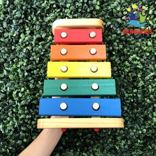 Đồ Chơi Đàn Xylophone Cho Bé Nhận Biết Âm Thanh Và Màu Sắc(Hàng VN)