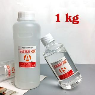 [RESIN ART] Keo Epoxy Resin 1kg (loại cứng, siêu trong)