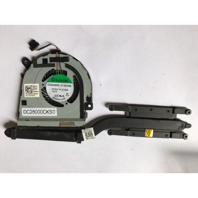 Quạt và tản nhiệt cpu laptop dell xps 12 9Q33