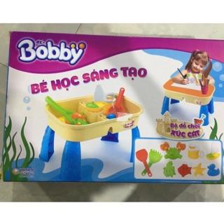 Bộ đồ chơi xúc cát Bobby