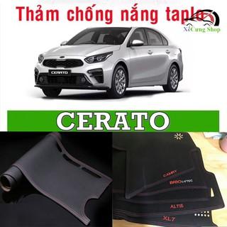 Thảm Taplo xe KIA K3, Cerato - Da vân Carbon cao cấp thumbnail