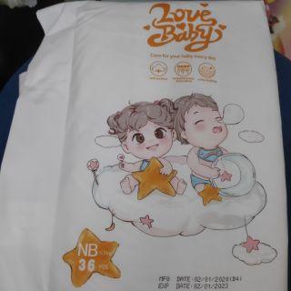 Bỉm Tã dán sơ sinh Love Baby NB36