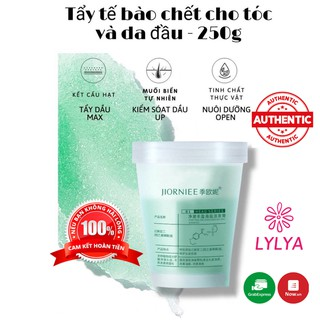 Tẩy da chết da đầu JIORNIEE kiểm soát dầu nhờn giảm bết tóc làm sạch chăm sóc tóc tại nhà Lylya Store