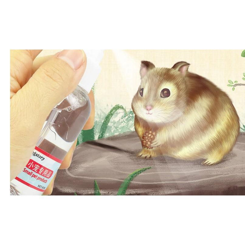 [SHIP NHANH] Xịt khử mùi kháng khuẩn cho thú cưng (hamster, chó, mèo, thỏ...)