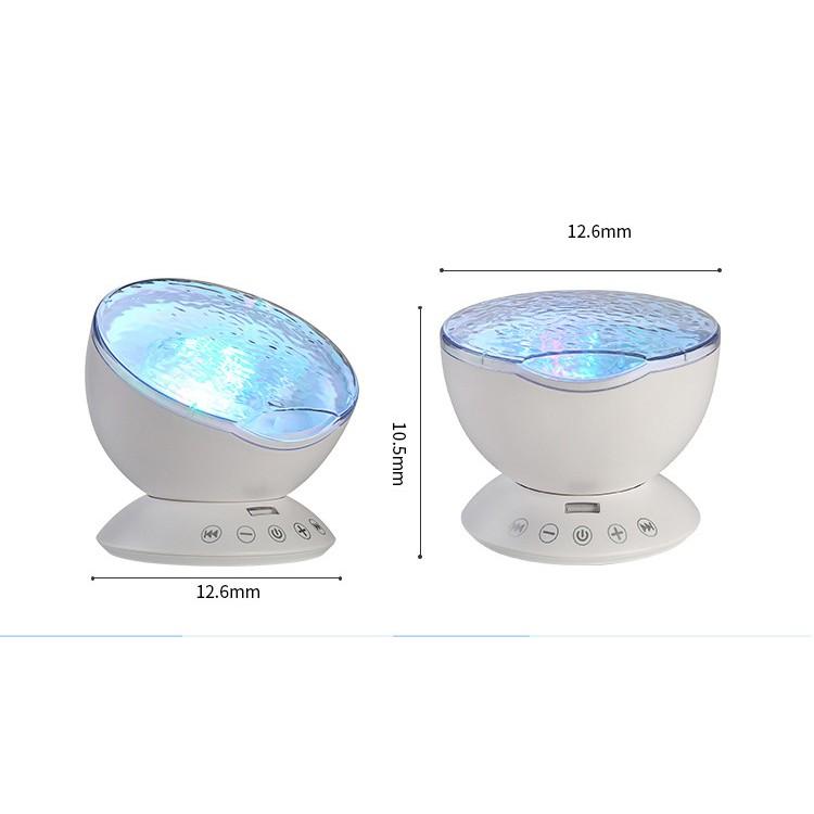 Bộ loa đèn điều khiển từ xa bằng remote Ocean Wave