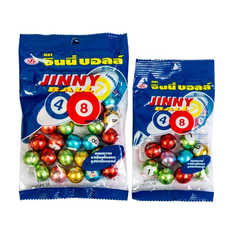 Kẹo Socola Jinny Bingoball Thailand 90g