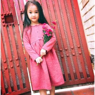 Váy len cho bé gái từ  5y - 14y