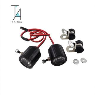 Gift Tabitha 1 Pair 3W Metal Lamp LED Lights 5-12V for Traxxas Slash REVO E-REVO X-MAXX RC Crawler Car Truck RC Car DIY Part