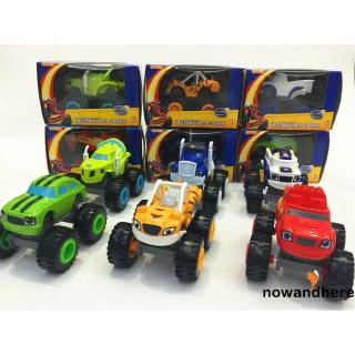 ☞✿☜Nickelodeon Blaze and Monster Machines Super Stunts Kids Toy Truck Car