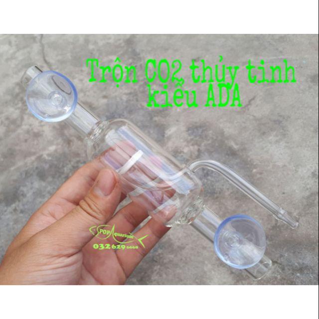 Trộn CO2 thủy tinh kiểu ADA cho bể thủy sinh