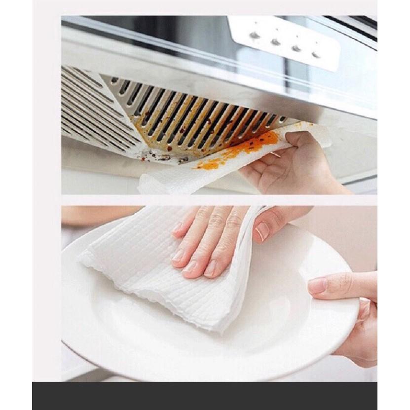 [Chính hãng - Sỉ 5 gói] Khăn giấy khô HMNATURE, Khăn khô đa năng - cuộn 500gr