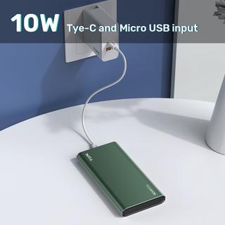 Hình ảnh Sạc Dự Phòng TOPK I1006 10000mAh 2 Cổng Dung Lượng Có Màn Hình Điện Tử Cho iPhone Huawei Samsung Xiaomi Oppo Vivo Realme-4