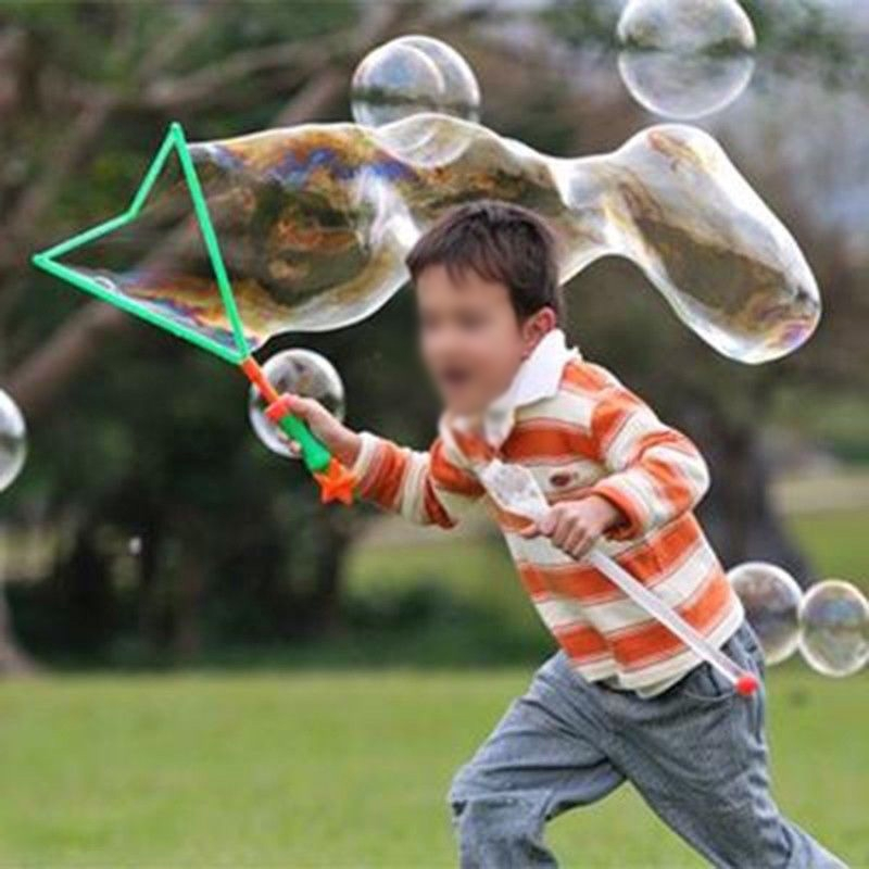 46cm Large Bubble Western Sword Shape Bubble Sticks Kids Outdoor Toy Gift