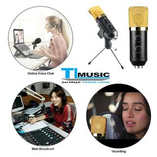 Micro USB Glosrik GL750 - Mic thu âm, livestream, chat voice, karaoke đa năng(chính hãng)
